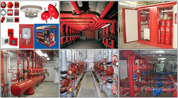 Tổng quan về hệ thống phòng cháy chữa cháy